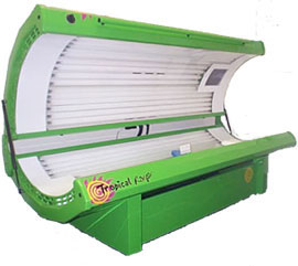the f59 length tanning bed bulb is for beds with facials like the one pictured here